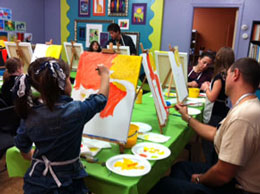 Noblesville art parties